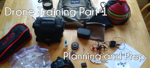Drone training series part 1 – Planning and prep