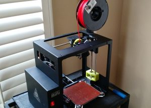 Our Lulzbot Mini in all of its glory!