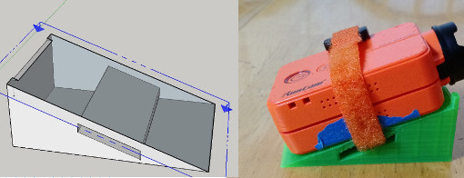 Creating your own quadcopter parts using SketchUp