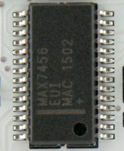 The Max7456 chip is the key to drawing on analog video streams, giving you an OSD.