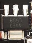 Linear regulators have a distinctive look.
