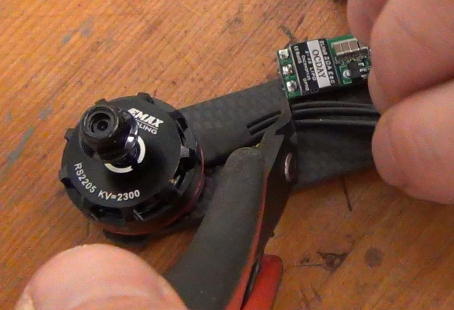 How to Build a Drone Racer: Part 3 – ESC Installation