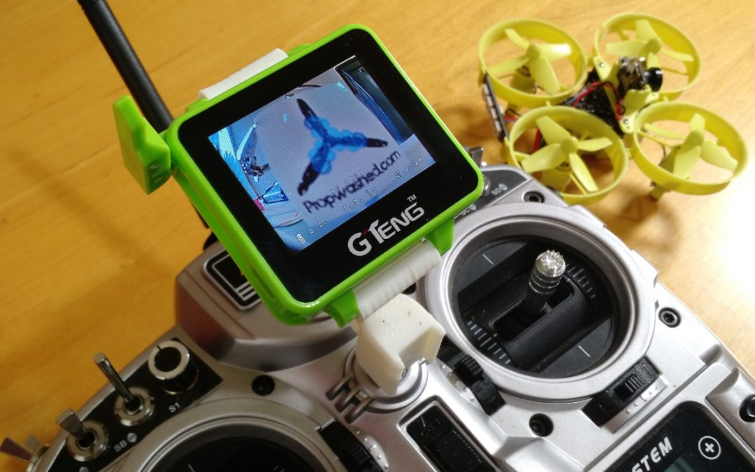 GTENG watch review:  The ultimate Tiny Whoop accessory!