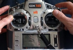 osd setup on transmitter
