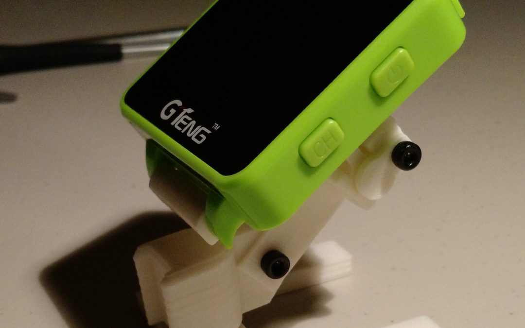 Drone Print: GTENG FPV watch transmitter mount