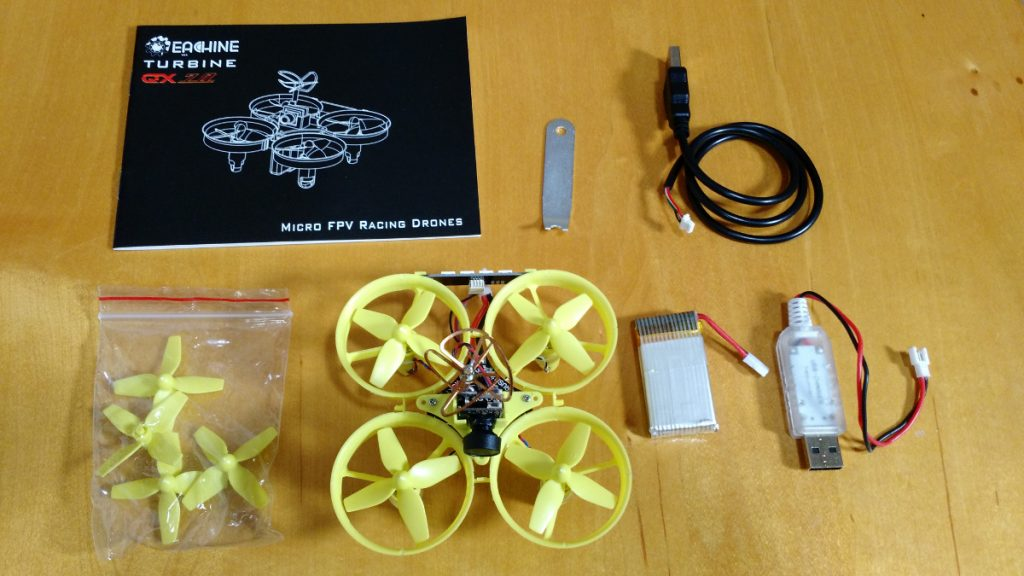 eachine qx70 unboxing