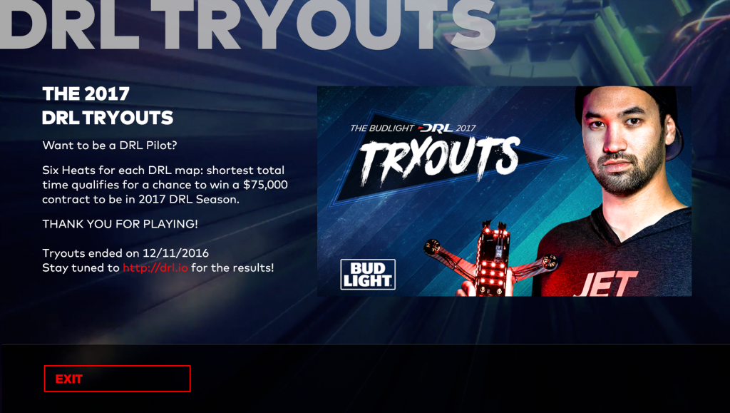 drl tryouts