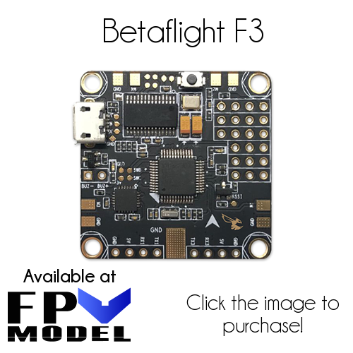 betaflight f3 fpv model