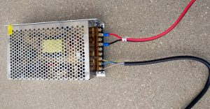 power supply wired