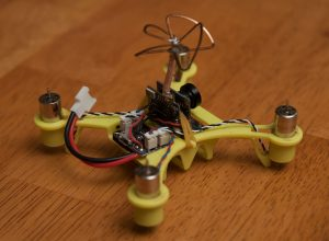 Eachine QX90C, rear view
