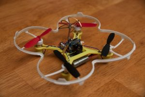 Eachine QX90C with Hubsan prop guard fitted