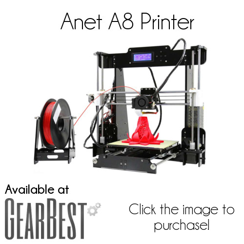 anet a8 printer gearbest