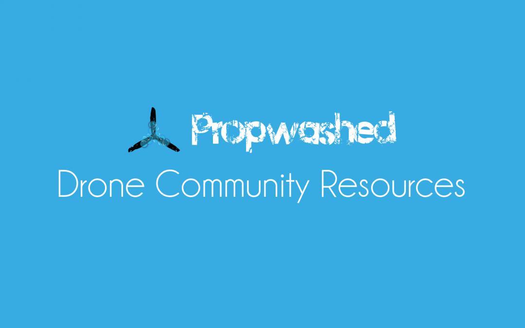 Drone websites: quadcopter and miniquad community resources