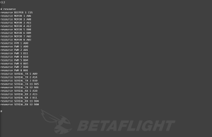 betaflight cli 2
