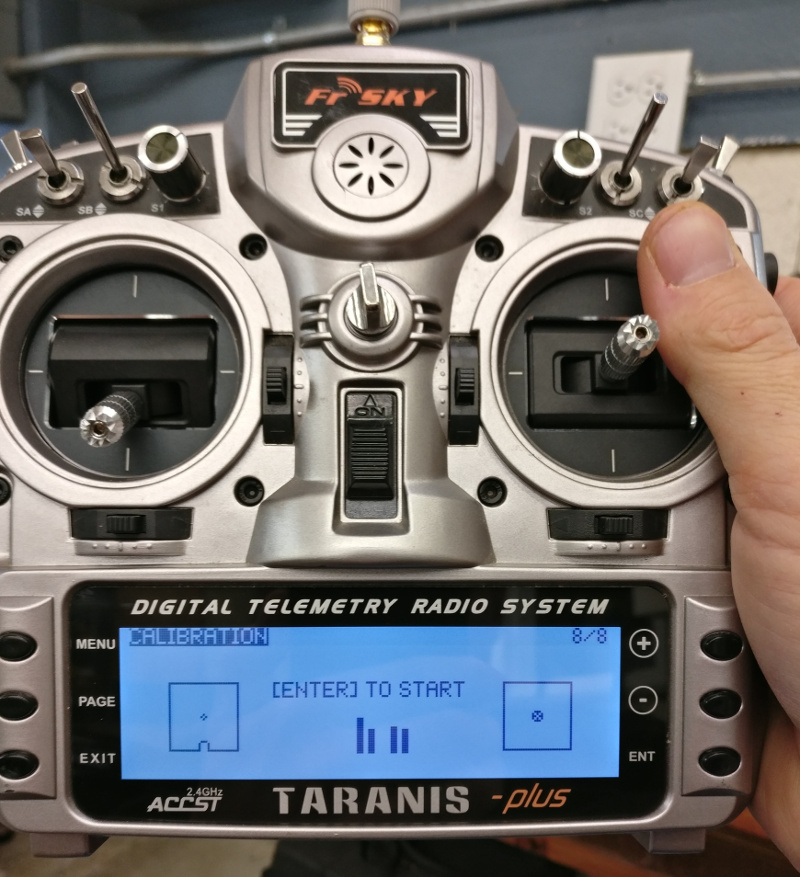 taranis calibration