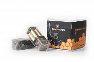 AcroBee motors and BeeBrain stack packaging