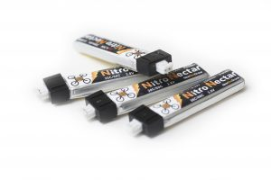 Four AcroBee batteries with JST-PH connectors