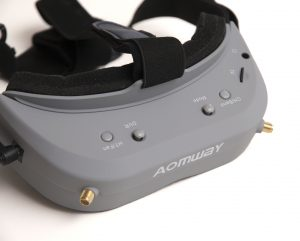 Top view of the Aomway Commander V1 goggles