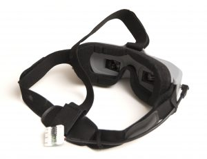 Head straps and back view of the Aomway Commander V1 goggles