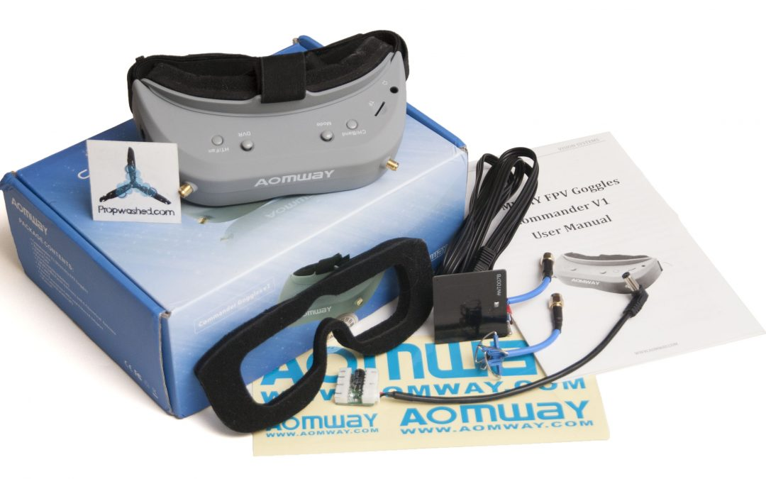 Aomway Commander V1S and V1 Video Goggles Review