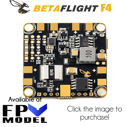 betaflight f4 fpv model
