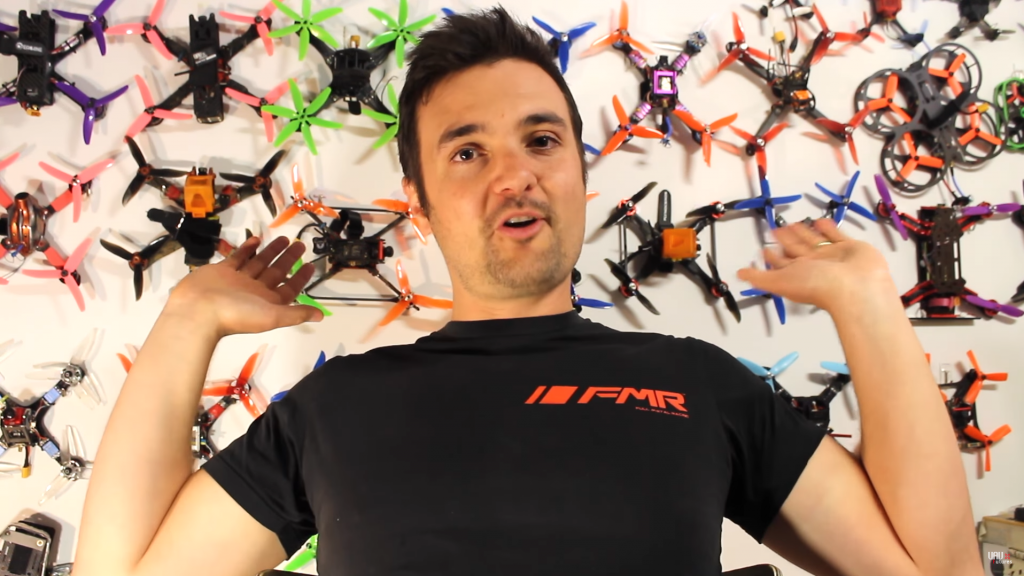 uavfutures quadcopter wall