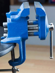 table vice clamp