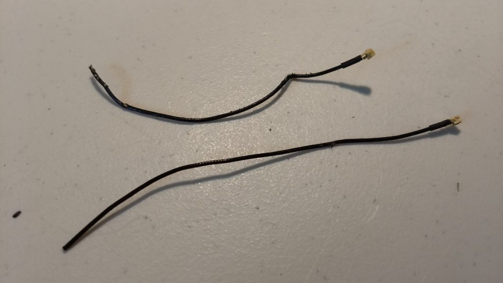 damaged antennas