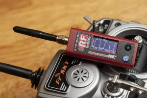 ImmersionRC Power Meter V2 measuring a Taranis output