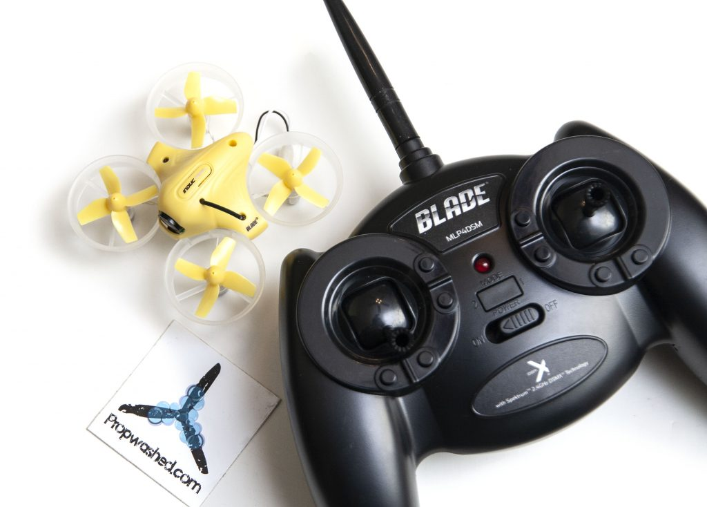 Horizon Hobby BLADE Inductrix FPV RTF drone and controller